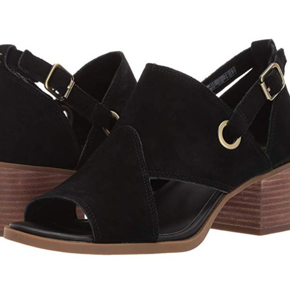 "UGG Shoes - UGG Black Woman's 2"" Heel Wedge"